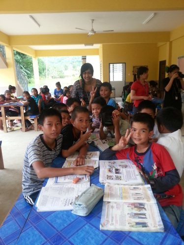 With Asrama Kids