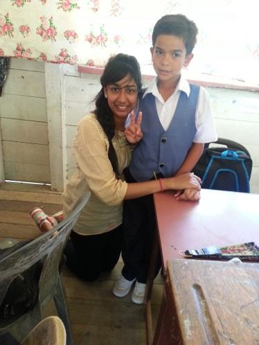 With favourite boy Shah Rizam