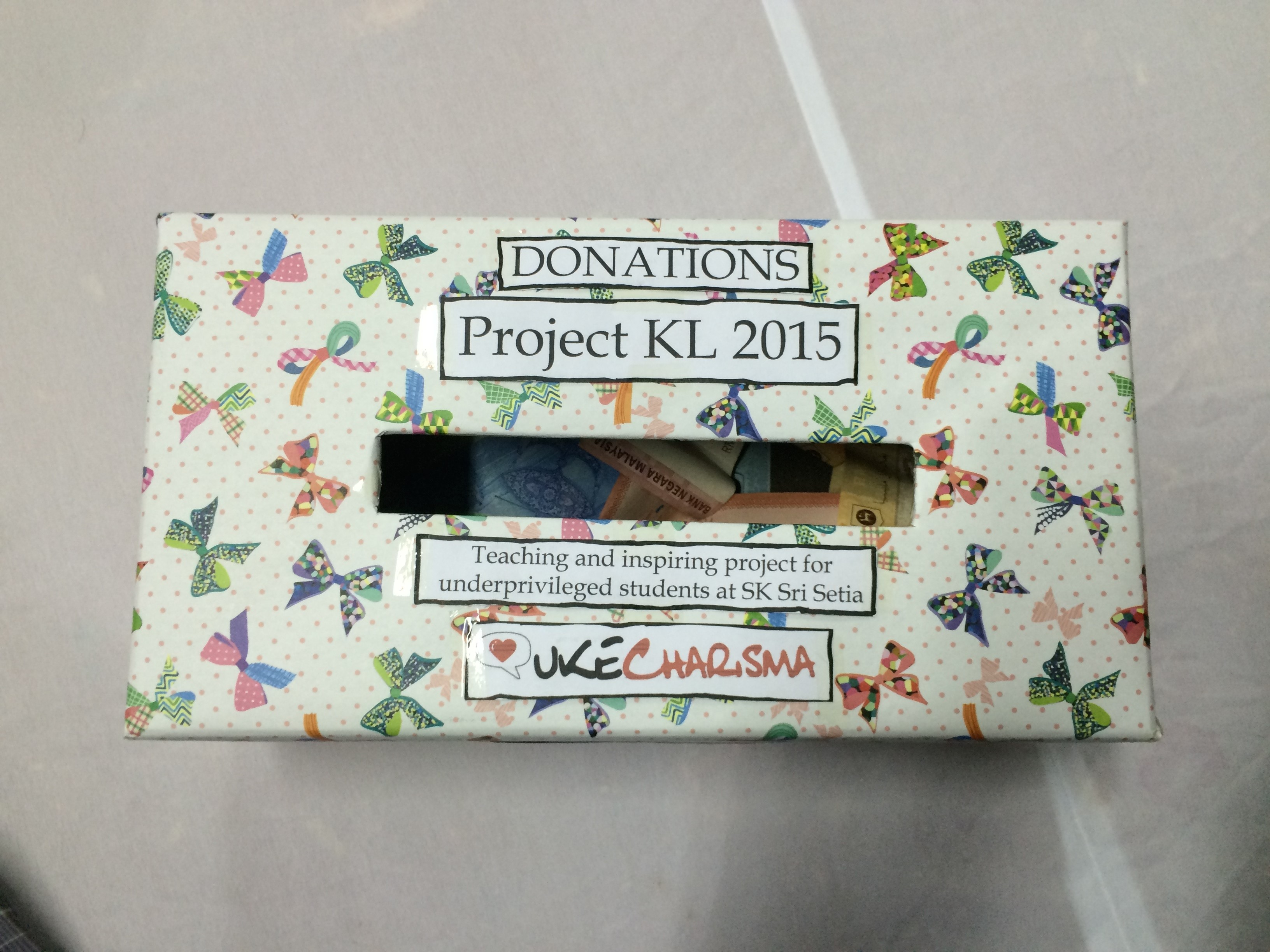 Nurul Jannahu0027s donation box. & Fundraising Ideas u2013 Charisma Movement Aboutintivar.Com